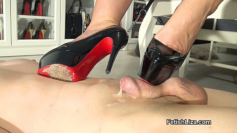 Louboutin fitting and shoejob part 2
