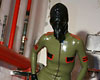 Jerk-off in latex catsuit  i can never stay dry wearing kinky outfits i just had to have a masturbate in this latex catsuit. I can never stay dry wearing kinky outfits, I just had to have a jerk-off in this latex catsuit.