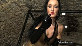Shiny latex lovers JOI